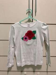 Gymboree flower top