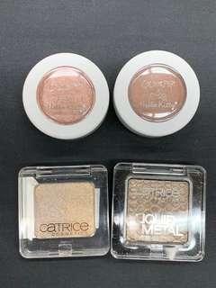 Bundle sale: colorpop & catrice single shadows