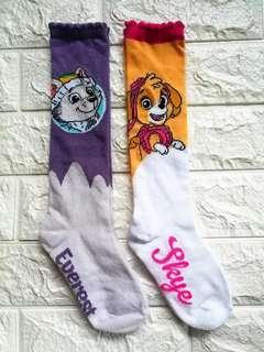 🚚 BN Paw Patrol Skye and Everest long socks leggings