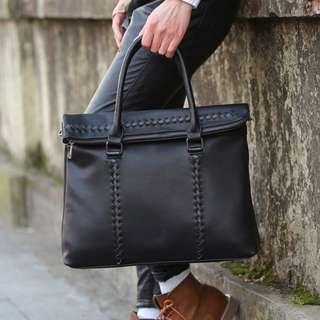 Baltic Premium Leather Messenger Shoulder Sling Bag
