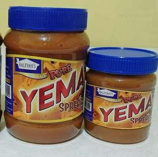 Yema Spreads, Peanut Butter and Coco Jam