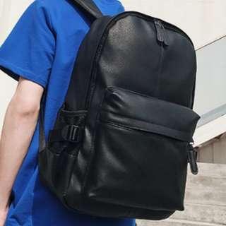 Craven Leather Minimalist Backpack Bag