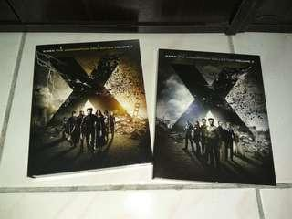X-men movie blu-ray collections