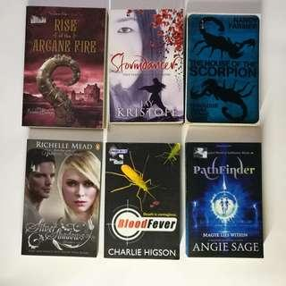 Cheap Preloved Books (6 for only RM75)