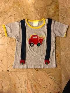 Kaos anak fire engine