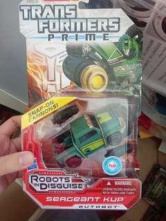 Transformers Prime Sergeant Kup