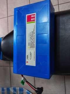 Battery  Li-ion Ebike
