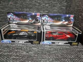 Petron blaze 100 ford GT car black and red