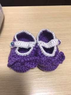 手織嬰兒鞋