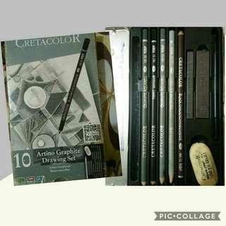 Free shipping: Cretacolor Artino Graphite Drawing Set