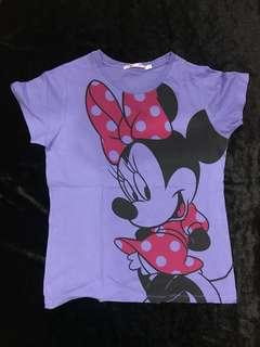 Violet Minnie Mouse Shirt