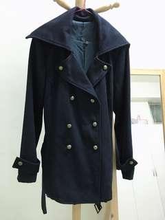 🚚 軍風雙排扣設計外套