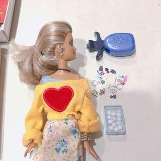 Barbie Doll with Earring Piercings