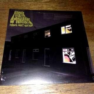 FREE POS LP Arctic Monkeys. Favourite Worst Nightmare. Piring hitam. Vinyl record