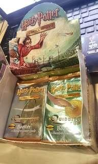 Harry Potter VINTAGE Sealed Quidditch Booster Pack Card Game