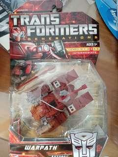 Transformers Generations Warpath