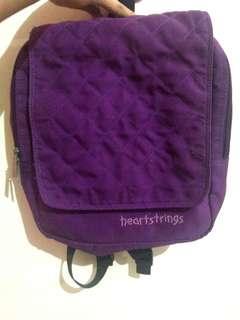 Heartstrings Purple Backpack