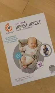 NEW ErgoBaby Insert for Newborn