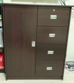Pre-loved Dresser (Dark Brown)