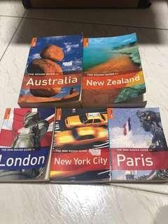 Travel Guide Books Australia, New Zealand, London, Paris, New York City