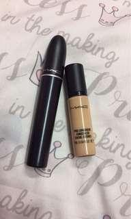 Mac Concealer and Mascara