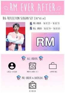 [wts] bts rm namjoon ever after slogan