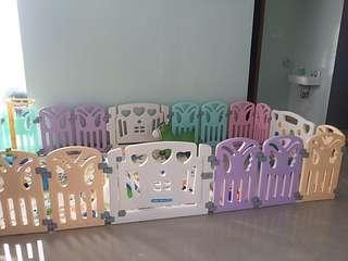 Coby haus fence new edition butterfly / pagar bayi
