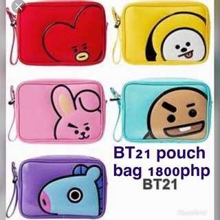BT21 pouch bag for PRE-ORDER