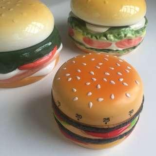 Burger Ceramic Storage Set