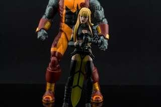 Marvel Legends Magik and Colossus
