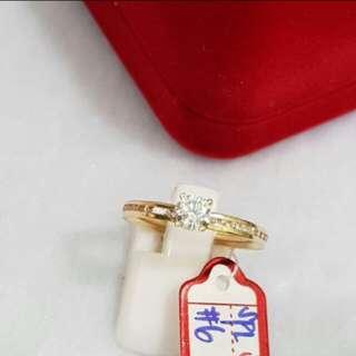 18k ring 100% REAL GOLD