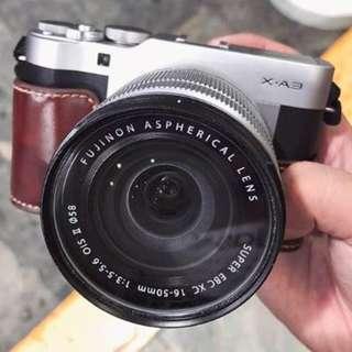 """Fujifilm X-A3 16-50MM KIT Mirrorless 24MP 3.0"""" Display Full HD WiFi"""