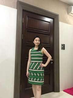 Stripes dress VVIP boutique