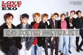 wts exo official posters