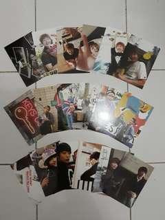 ASLI! Shinee Postcard set (surprise vacation)