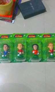 football figurine Cech Rooney Ballack Gerrard