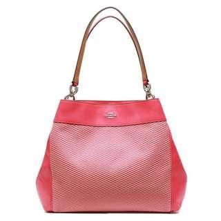 Authentic Coach Edie Shoulder Bag