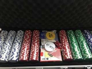 500 pcs Poker Chips Set