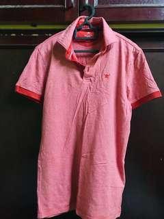 Hackett Polo T-shirt (Red)