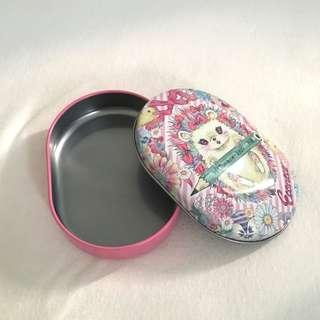 Playcolor K x Econeco Lovely Pink Metal Tin