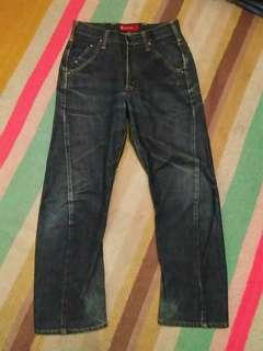 Edwin E Function Denim Jeans Size 28