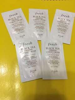 Fresh black tea firming cream 2ml x 5