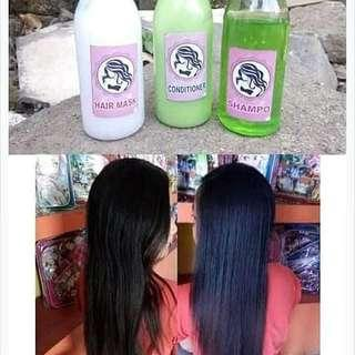 Paket pelurus rambut
