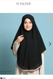 "aalia hijab 60"" tudung labuh"