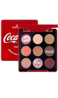 the face shop coca cola eyeshadow