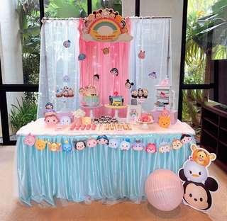 Tsum Dessert Table Set Up