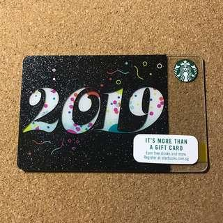 🚚 Singapore Starbucks 2019 Card