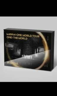 Wanna One World Tour Bluray DVD