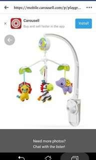 PLAYGRO MUSICAL TOY FOR CRIB