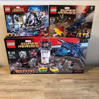 *Reserved* MISB Lego 76039 76051 76109 Marvel Superheroes Ant-Man Bundle